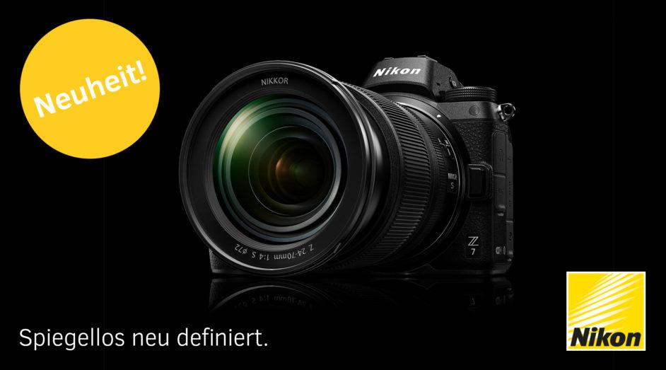 Die neue spiegellose Nikon Z