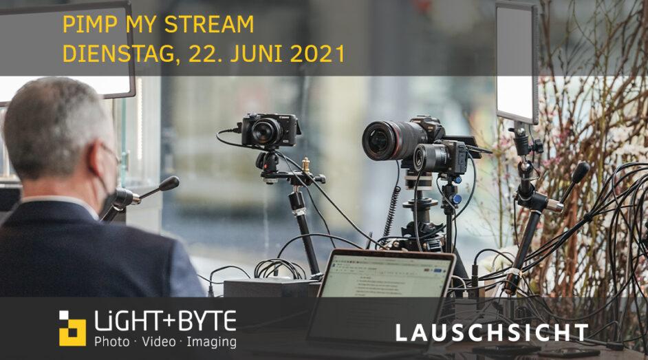 Einladung zum Pimp my Stream Event am 22. Juni 2021