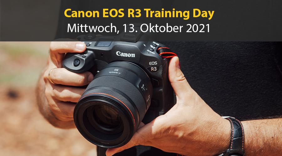 Canon EOS R3 Training Day am 13. Oktober 2021
